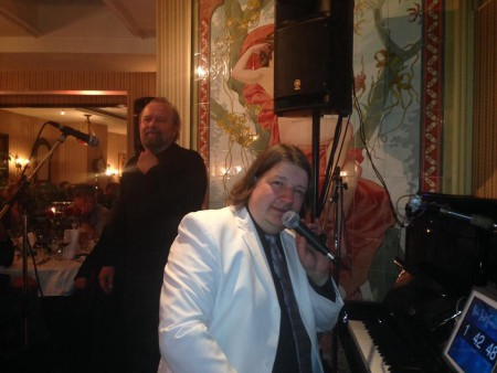 jazz-session at silvesterparty 2013/14 at hotel belle-epoque bern